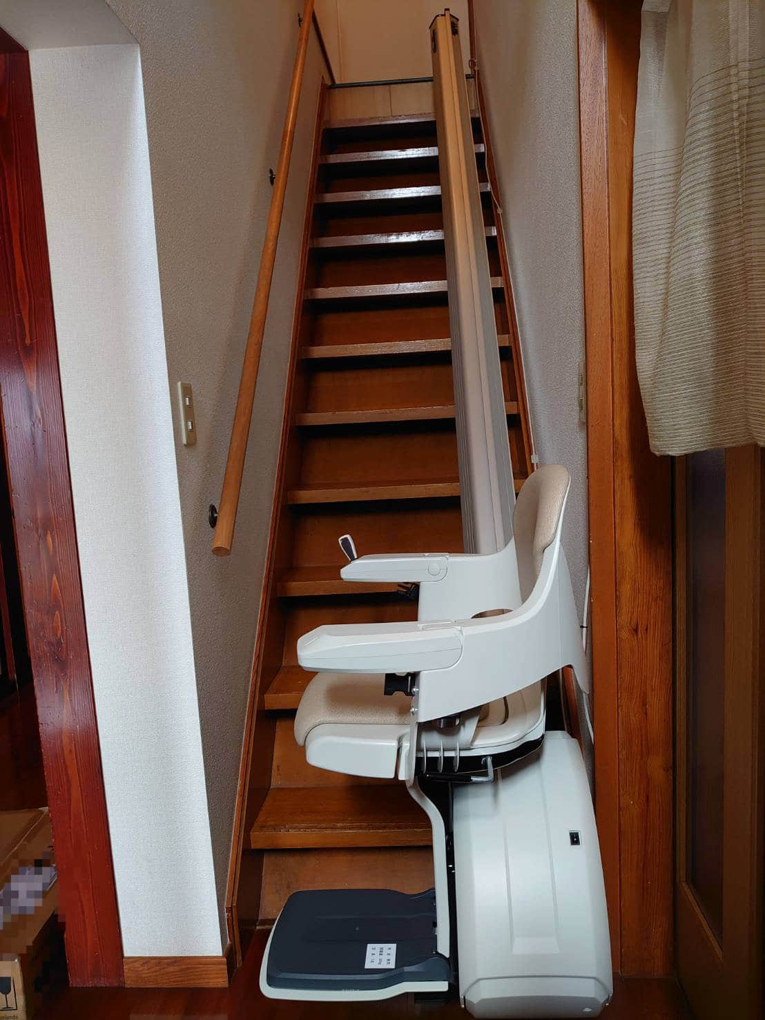階段昇降機直線型