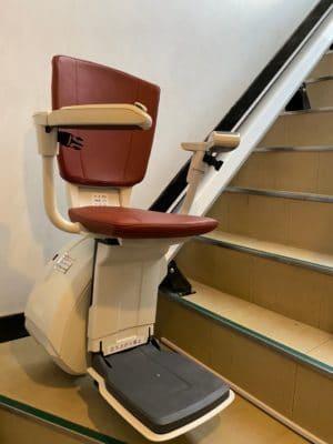 階段リフト(下階)