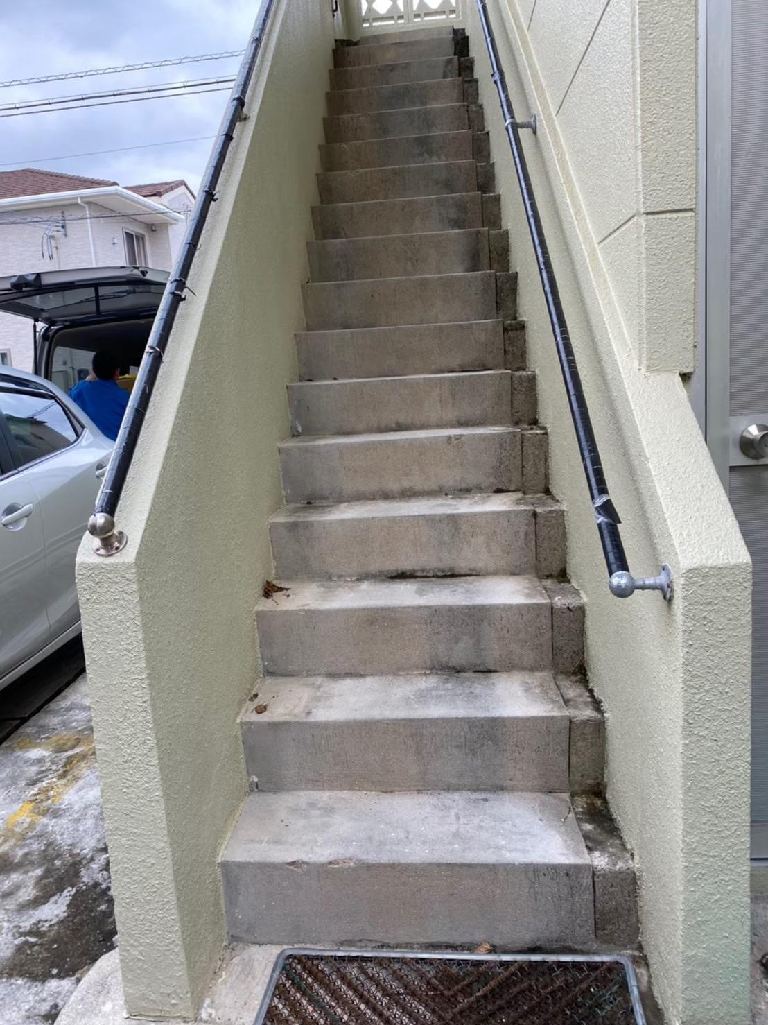 階段(設置前)