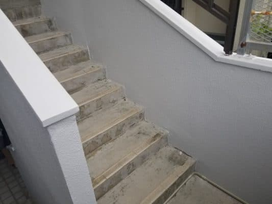 階段昇降機設置前上