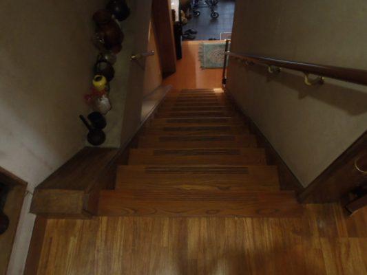 名古屋 階段昇降機(設置前)