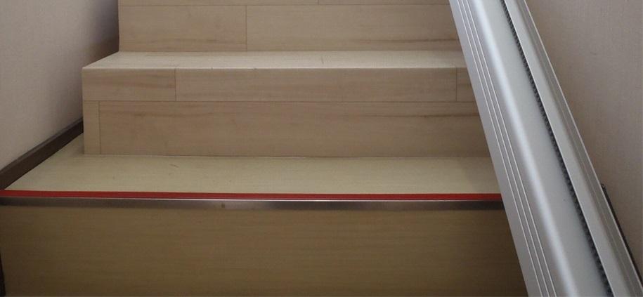 階段昇降機レール