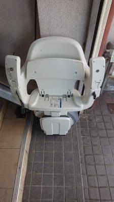 屋外用階段昇降機
